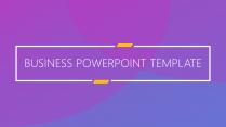 高端商务系列13:欧美扁平化精致实用商务PPT模板