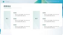 【商务】清新简洁实用主义商业计划书2示例5