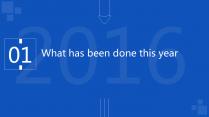 年终总结 工作总结汇报 商务蓝色 通用版示例4