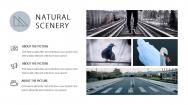 【超美画报】灰蓝自然杂志风模板3.0示例4