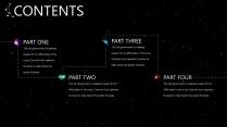 【创意】大气宇宙主题通用商务模板示例3