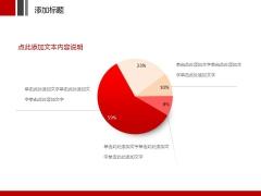 红色创意2014工作汇报PPT模板示例4