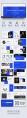【潮流商务 32】蓝色极简杂志画册商务模板示例3