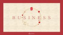 【新中式商务】红白金工作通用模板07示例2