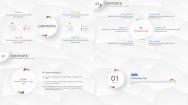 【Keynote】微立体多彩商务模板(4套配色)示例4