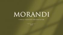 【莫兰迪色卡】花草气质模板