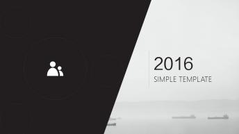 【精致系列】2016简约实用商务系列模板 3示例2