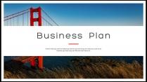 【完整框架】创意图文混排商业计划书策划书模板03