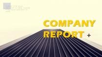 #商务报告#欧美简约公司项目简介PPT模板