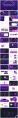 【变幻】科技感互联网风格ppt模板(4套合集)示例3