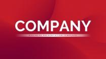 【热切】红色商务风汇报提案PPT模板