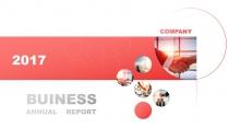 【动态】红色清透—高端精致立体时尚商务PPT示例2