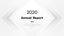 【创意几何】高端创意总结报告工作计划商务汇报模板