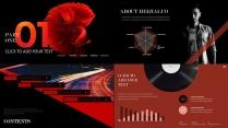 【红黑斜方】活力商务创意欧美大片质感模版示例3