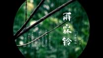 【水烟词话】雨霖铃 图文混排古典国风模板02