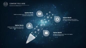 【星空-动态】现代商务总结汇报模板01示例6