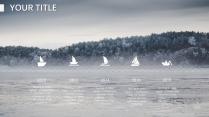 【白色冬季】唯美自然风格报告策划计划模板示例6