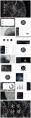 【水烟词话】古典中国风PPT模板(4套合集)示例5