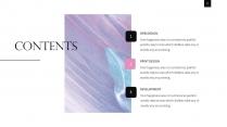 【油画质感】少女粉杂志风PPT模板示例3