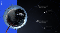 超大气宇宙科技风互联网通用模板示例3