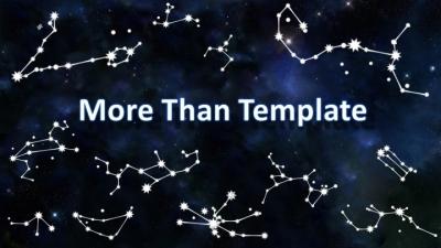 【高端大气可视化星座主题模板ppt模板】-pptstore