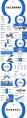 【汇报利器】4套蓝色极简风年终总工作汇报PPT合集示例5