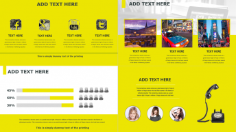 实用且时尚 黄色主题商务PPT示例3