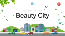 【商务中国】智慧城市建筑地产工业企业工作PPT