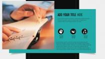 简约高端展览展示企业推介总结汇报商务演示培训讲座示例7