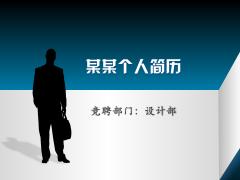 [雪笨鸟]商务个人求职简历男版