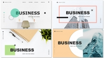 【四套合集】创意多排版多用途总结报告商务汇报模板