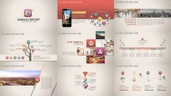 复古微立体新年计划年终总结商务PPT模板第56部