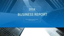创意蓝色现代商务汇报工作计划总结报告模板