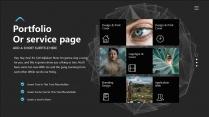 【科技概念】抽象创意视觉 演讲提案品牌多用途模版示例7