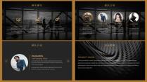 【耀你好看】黑金高端时尚商业计划书示例4