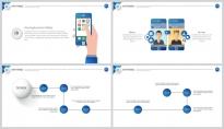 【极致商务】视觉差公司企业策划工作汇报PPT示例5