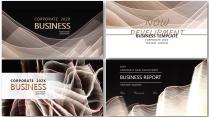 【黑金合集】高端大气极简商务报告年终汇报项目总结