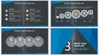 欧美杂志排版简洁高端实用PPT模板23示例5