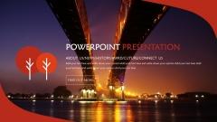 欧美清新风系列9:多色商务实用PPT模板