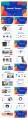 【抽象艺术】创意商务汇报工作计划模板示例3