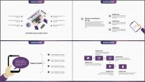 多色渐变创意企业工作模板第十四弹(紫色风暴版)示例6