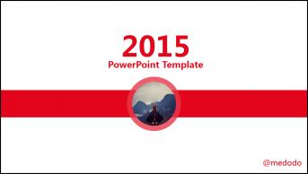【精致实用】红灰色精致简约大气商务PPT模板