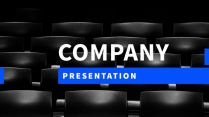 【正式】高端黑商务企业介绍提案ppt模板04示例2
