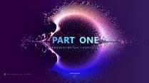 【炫彩粒子】演讲创意视觉大气 品牌推广科技智慧模版示例3
