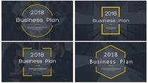 【完整框架】图文混排商业计划书策划书模板【含四套】