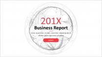 【创意点线-39】简约清新通用工作总结商务报告模板