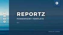 【極簡風】藍色海洋北歐居家介紹PPT模板