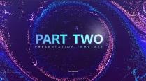 【炫彩粒子】演讲创意视觉大气 品牌推广科技智慧模版示例7