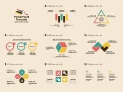 扁平化简约商务报告模板[第二部]