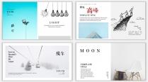 【设计感】清新简约杂志风PPT模板9示例6